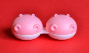 Sports Vision's New 3 Pieces Hippo Animal Contact Lens Storage / Soaking Case CE Marked & FDA Approved