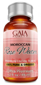 ORGANIC Rose Water, 60ml - Gaia Purity 100% Pure, All Natural