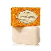 "Kama Ayurveda Turmeric and Myrrh Skin Brightening Soap, 120g - - ""Expedited International Delivery by USPS / FedEx """