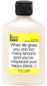Not Soap, Radio - 'When Life Gives You One Too Many Lemons' Body Scrub