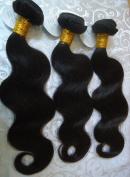 "Brazilian Virgin 100% Unprocessesd Human hair Extension Body Wave 5A 1B 3Pacs 14""16""18"""
