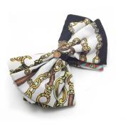 Artemis® Colourful Fabric Bow Banana Clip Ponytail Hair Holder