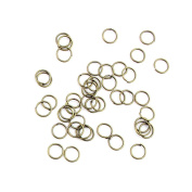 465 Pieces Jewellery Making Findings Antique Bronze Charms FL2320 Jump Rings Craft Lots Repair Supplies