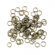 1860 Pieces Jewellery Making Findings Antique Bronze Charms FL2330 Jump Rings Craft Lots Repair Supplies