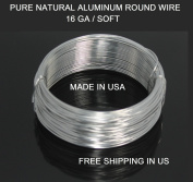 16 Ga / 30m Aluminium Round Wire (Dead Soft) By Modern Findings