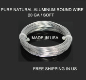 20 Ga / 15m Aluminium Round Wire (Dead Soft) By Modern Findings