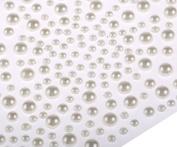 325 White Pearl Mix Self Adhesive Diamante Stick on Rhinestone Sticky Gem