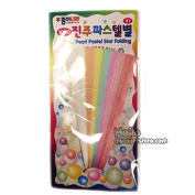 Origami Folding Lucky Star Paper : Pearl Pastel Star