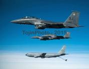 F-15E Strike Eagles prepare for aerial refuelling