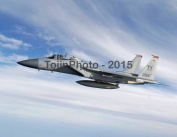 F-15D Eagle From Tyndall AFB during William Tell 2004 Live Fire