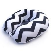 Neck Pillow Stripe U Shaped Travel Pillow