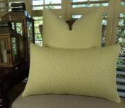 Designer Zig Zag Throw Pillow, Cream Chevron Zig Zag Throw Pillow, Cream Wavy Accent Pillow, Luxury Modern Throw Pillow, INCLUDES POLYFILL INSERT, Handmade in USA, Thomas Collection 11243