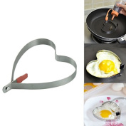 Cook Fried Egg Pancake Stainless Steel Heart Shape Mould Mould Kitchen Tool Rings