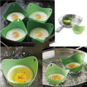 Kitchen Silicone Fried Fry Frier Oven Pancake Egg Poach Mould Poacher Cup