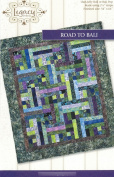 Road to Bali Quilt Pattern No. LEG9301 by Legacy Patterns Jelly Roll 6.4cm Strip & Batik Friendly 140cm x 160cm Finished Size