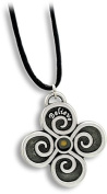 Cathedral Art FM104 Believe Pendant with Mustard Seed, Includes 60cm Black Satin Cord
