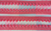 Rose Pink Mini Pom Pom Fringe Dangle Trim Embellishments Woven Sewing Bobble Embroidery 36 Yards