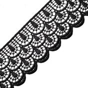 Venise Lace Ribbon Trim for bridal, apparel, home décor, 6.7cm by 1 Yard, BAT-6952