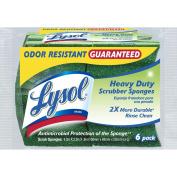 Lysol Heavy Duty Durable Scrub Sponges, 6-Pack