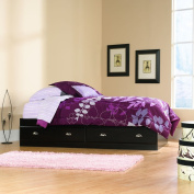 Sauder Shoal Creek Mates Bed, Jamocha Wood