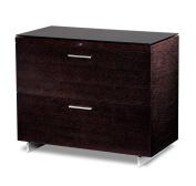 BDI Sequel Lateral File Cabinet - Espresso Stained Oak