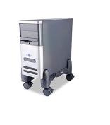 Kantek - Mobile CPU Stand, 4-1/2w x 16d x 7h, Black CS200B (DMi EA