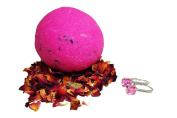 Rose   Bath Bomb (Earrings)   JewelBath Edition   with 925 Sterling Silver surprise up to £250