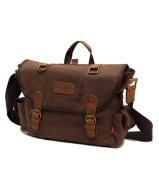 Molly Unisex Simple Pure Colour Canvas Handbag Shoulder Crossbody Bags