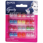 Goody Styling Essentials Girls Claw Clips, Mini 24 Count