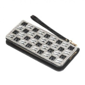 Breezy Couture Checker Glass Wallet