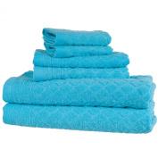Everyday Home 6-Piece Bath Towel Set, Blue