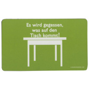 """Gilde Inkognito Breakfast Board """"It is used as the Tisch... 23 x 14 CM"""