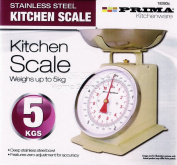 CREAM Retro Style Mechanical Kitchen Scales Baking Weighing 5 kg /11lb Scale NT