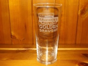 MAGNERS EXTRA COLD GOLDEN DRAUGHT PINT GLASS