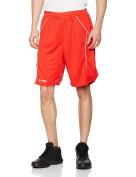 SPALDING basketball crossover training shorts [red]