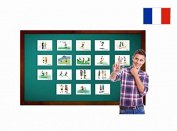 Fiches de vocabulaire - Récréation - Recess and Schoolyard Flashcards in French