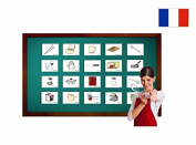 Kitchen and Crockery Flashcards in French - Fiches de vocabulaire - La Cuisine