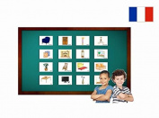 Fiches de vocabulaire - Salle de séjour - Living Room Flash Cards in French