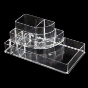 Big size acrylic Cosmetic makeup Organiser Organiser Lipstick Brush Holder Makeup Storage Case