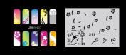 Airbrush nail art stencil Fengda JFH11-217