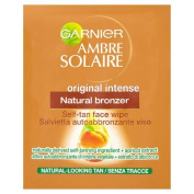 Garnier Ambre Solaire Self-Tan Bronzer Face Wipes - Pack of 30