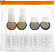 Samsonite Toiletry Bag Travel Accessories Co Toiletry Bottle Set, Clear (Transparent) 45536 1212