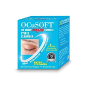 Ocusoft Plus Lid Scrub Cleanser 20 Individual Pads Triple Pack 3 x 20