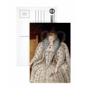 Queen Elizabeth I of England and Ireland.. - Postcard (Pack of 8) - 15cm x 10cm - Art247 Highest Quality - Standard Size - Pack Of 8