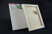 CANVAS 80x80 cm (32x32 inch) ARTIST BLANK STRETCHED & GESSO PRIMED FRAMED COTTON CANVAS