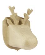 Decopatch Small Reindeer Trophy, Brown