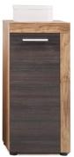 Trendteam Cancun 1259-802-59 Satin Walnut Bathroom Side Cabinet 36 x 81 x 31 cm