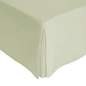 Julian Charles King Size Percale 180 Thread Count Base Valance, Green