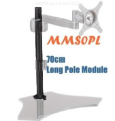 Allcam MMS0PL 70cm Long Pole Module for MMS01, MMS04 & MMS05 LCD Monitor Arm Stands