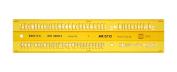 Aristo AH5301/3 Lettering Stencil ISO 3098-1